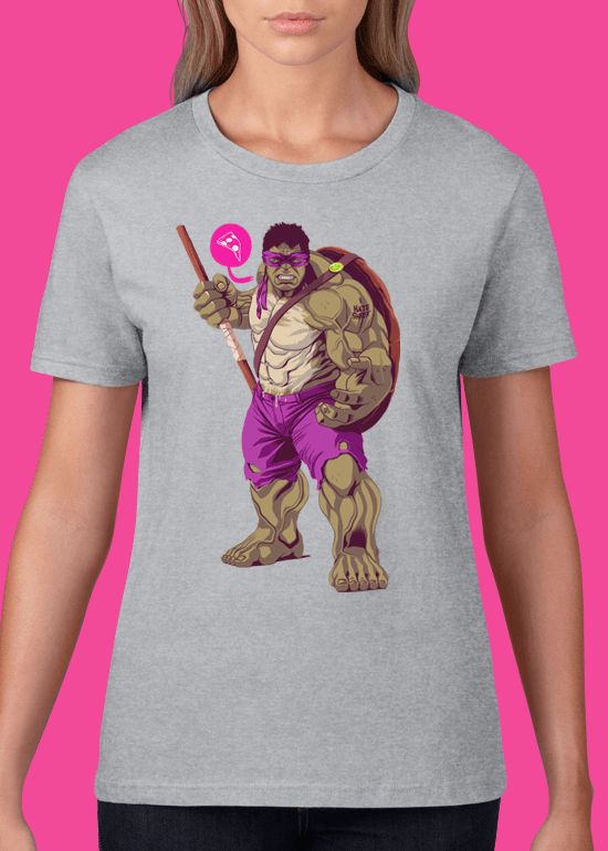 Mike Wrobel Shop The Hulk T Shirt Woman Heather Grey Small Medium Large X-Large 2X-Large