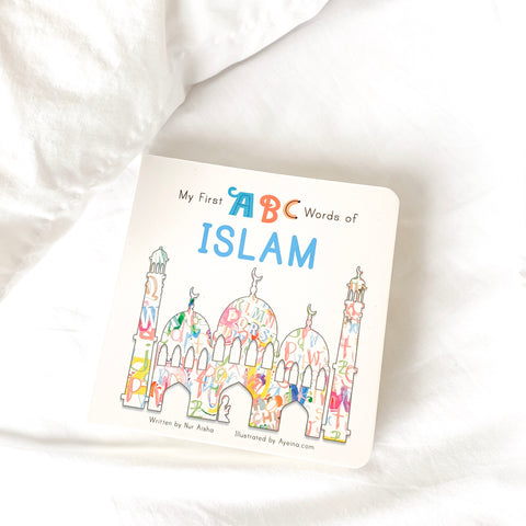 My First ABC Words of Islam | Islamic books for toddlers