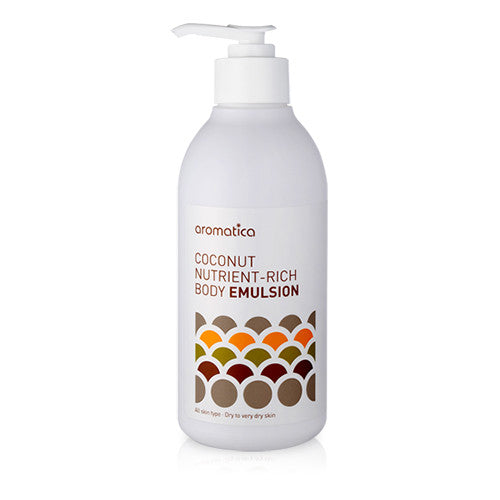 Aromatica – Coconut Nutrient Rich Body Emulsion 300ml