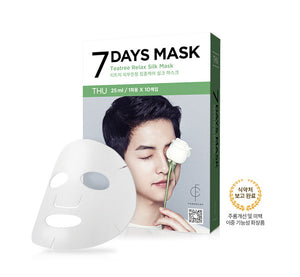 Forencos - Song Joong-gi mask pack [Thursday] Seven Days mask set 10'lu (10x25ml)