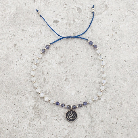 Iolite & Moonstone Bracelet - Limited Edition