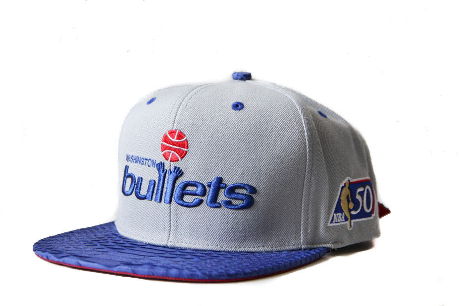 HATSURGEON x Mitchell & Ness Washington Bullets Basic Logo Strapback