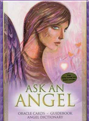 Ask an Angel Oracle Deck w/Book by Salerno & Mellado