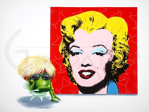 "Michael Godard ""Marilyn"" Limited Edition Canvas Giclee"