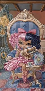 "Bob Doucette ""Annabella"" - Edition of 500- 7"" by 14""- Canvas Giclee Print Limited Edition Canvas Giclee"