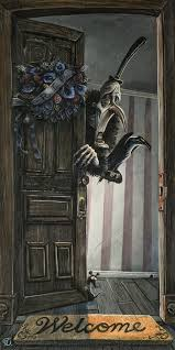 "Bob Doucette ""At Death's Door"" Size-12 x 24""- Embellished Limited edition of 10 Limited Edition Canvas Giclee"