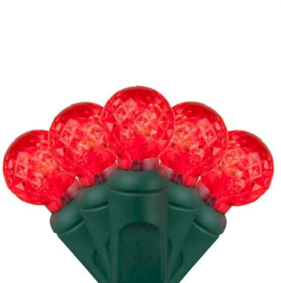 70 Red G12 Berry - Premium - LED Christmas Lights