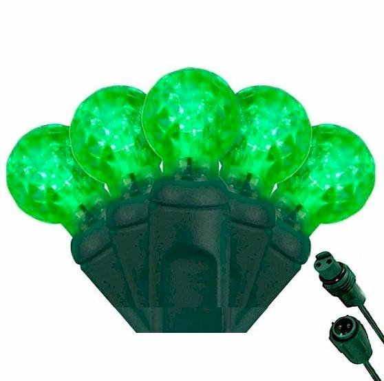 G12 Green 25 LED Berry Lights – Commercial String Lights