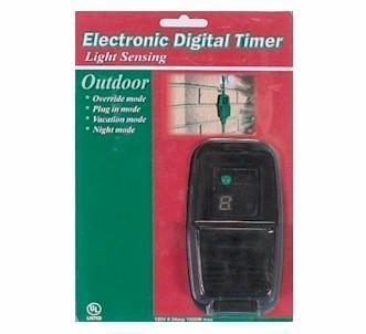 Electronic Dusk To Dawn Light Timer