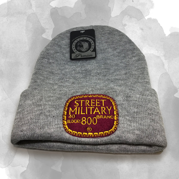 "Street Military - ""Old English 800"" Beanie"