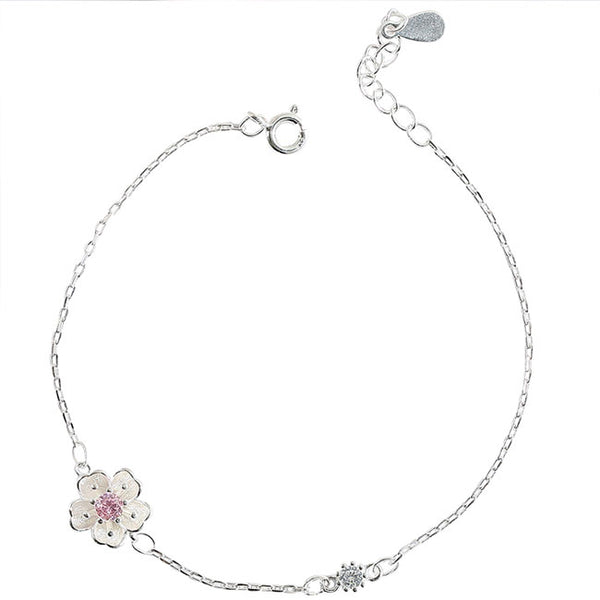 Sweet Flowers Girlfriends Gift Accessories Women Bracelet Personality Cherry Bracelet