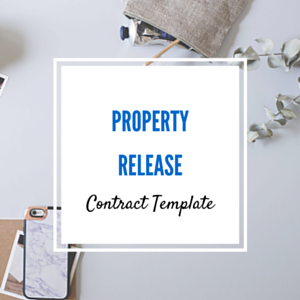 Contract Template: Property Release Template