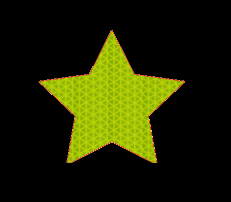 Star Reflective Decal