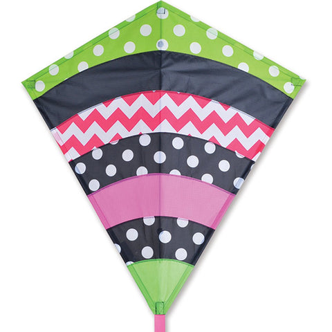 30 in. Diamond Kite - Whimsical