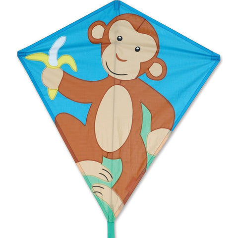 30 in. Diamond Kite - Monkey