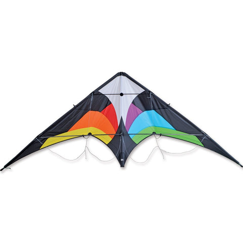 Wolf NG Sport Kite - Black Rainbow