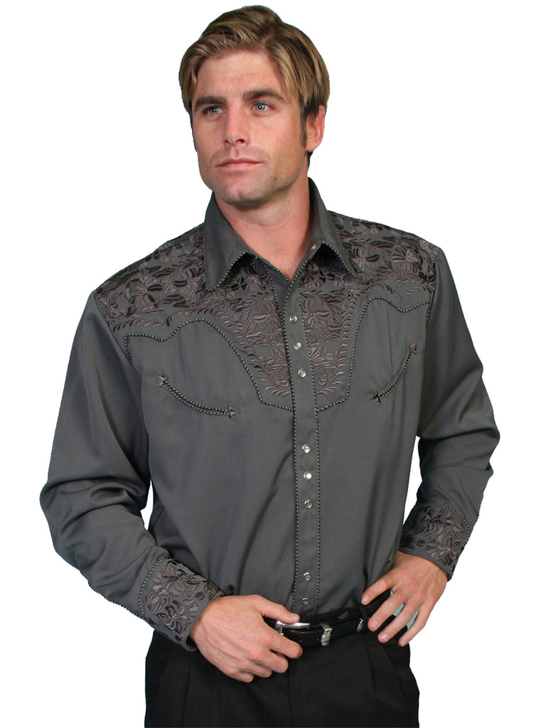 Men's Scully Snap Front Shirt #P-634CHA