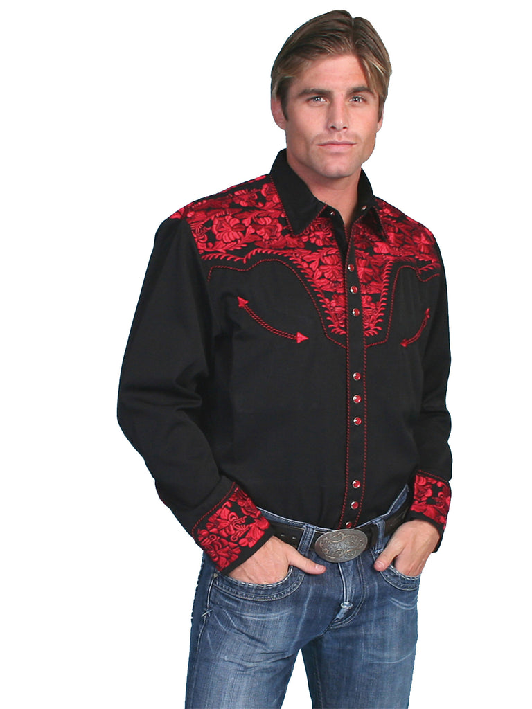 Men's Scully Snap Front Shirt #P-634CRI