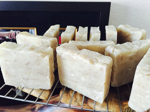 Custom Coconut Milk Soap Loaf- Triple Butter