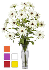 1172 Cosmos Silk Flowers in Water in 5 colors by Nearly Natural | 27 inches