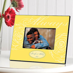 GC860 Always for Wedding / Couple | Personalized Picture Frame for 4x6 Photo by JDS Marketing