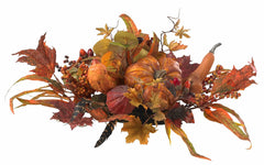 4910 Harvest Artificial Autumn Centerpiece by Nearly Natural | 26 inches