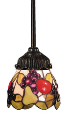 078-TB-19 Fruit Mix-N-Match 1-Light Tiffany-Style Mini Pendant ELK Lighting