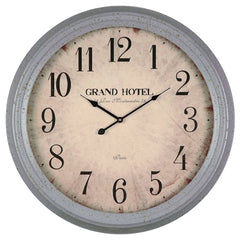 40227 Asher Large Round Wall Clock by Cooper Classics | 24.25 inches