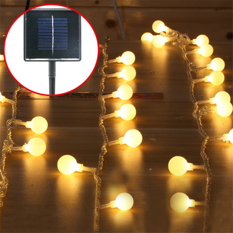 15ft 40pcs LED Outdoor Patio String Lights