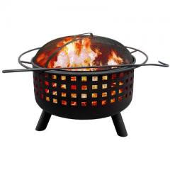City Lights Memphis Fire Pit - Clay Finish