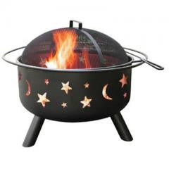 Big Sky Fire Pit Stars and Moon
