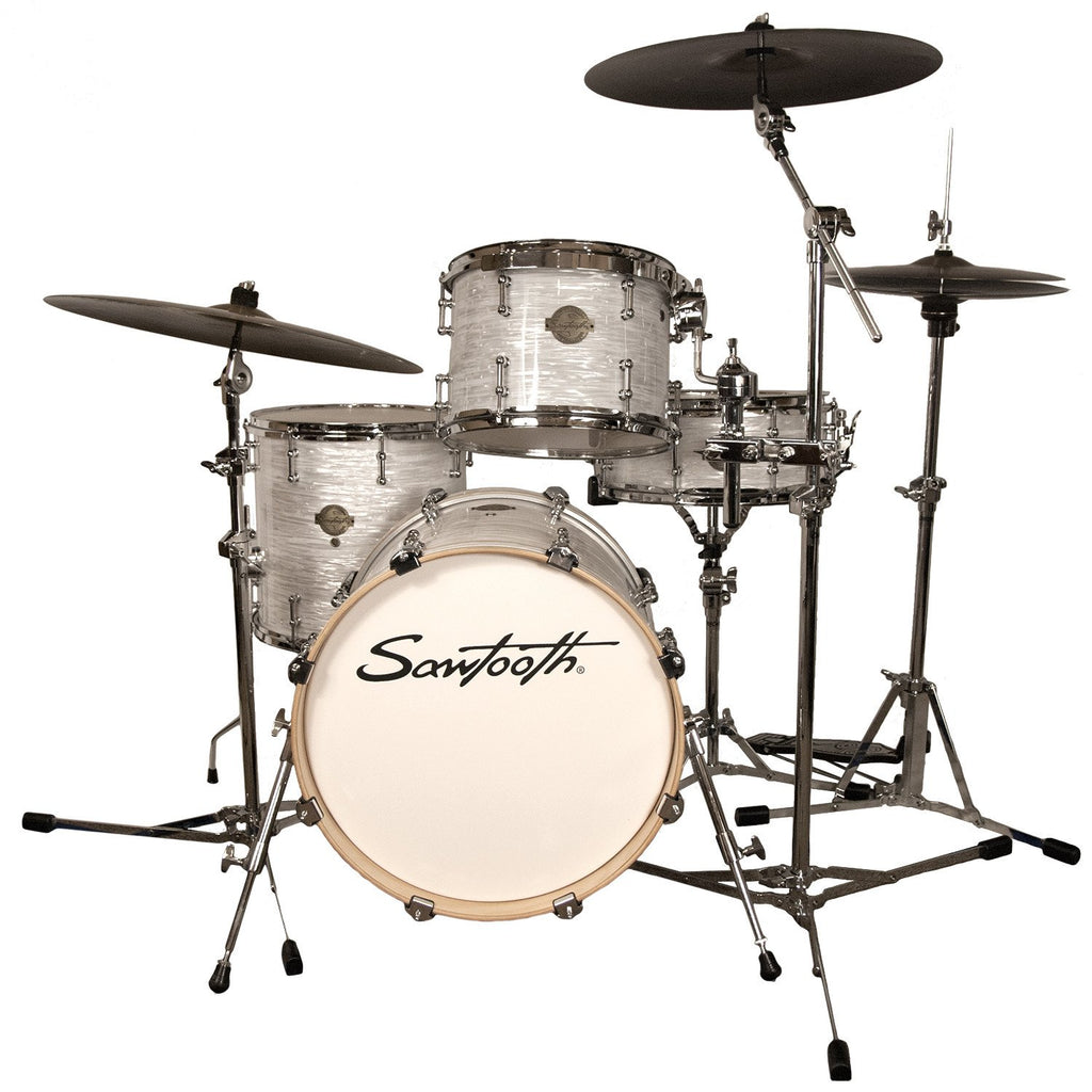 sawtooth command series 4 piece drum shell pack with 18 bass drum wh godpsmusic. Black Bedroom Furniture Sets. Home Design Ideas