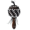 Sawtooth Wood Maracas, Dark Stain