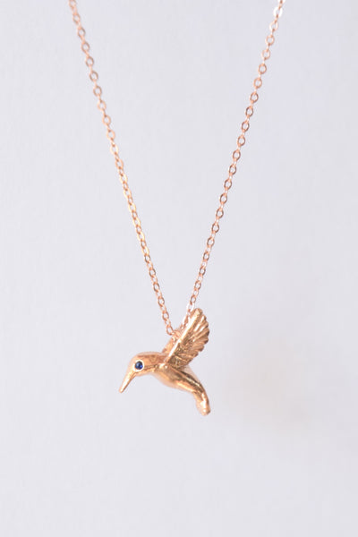 """Giving Birds"": Benefitting National CASA Association (Genuine Blue Sapphires)"