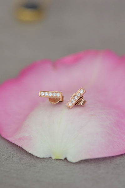 """Vivienne"" Diamond Earrings: Benefitting Your Choice of Charity"