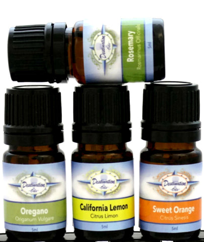 5ml Sample Sized Essential Oils-Destination Oils