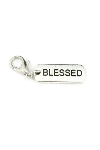 Blessed Silver Jewelry Charm-Jewelry Charm-Destination Oils