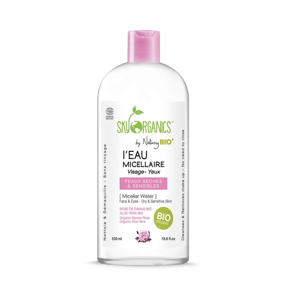 Sky Organics micellar cleanser for dry and sensitive skin