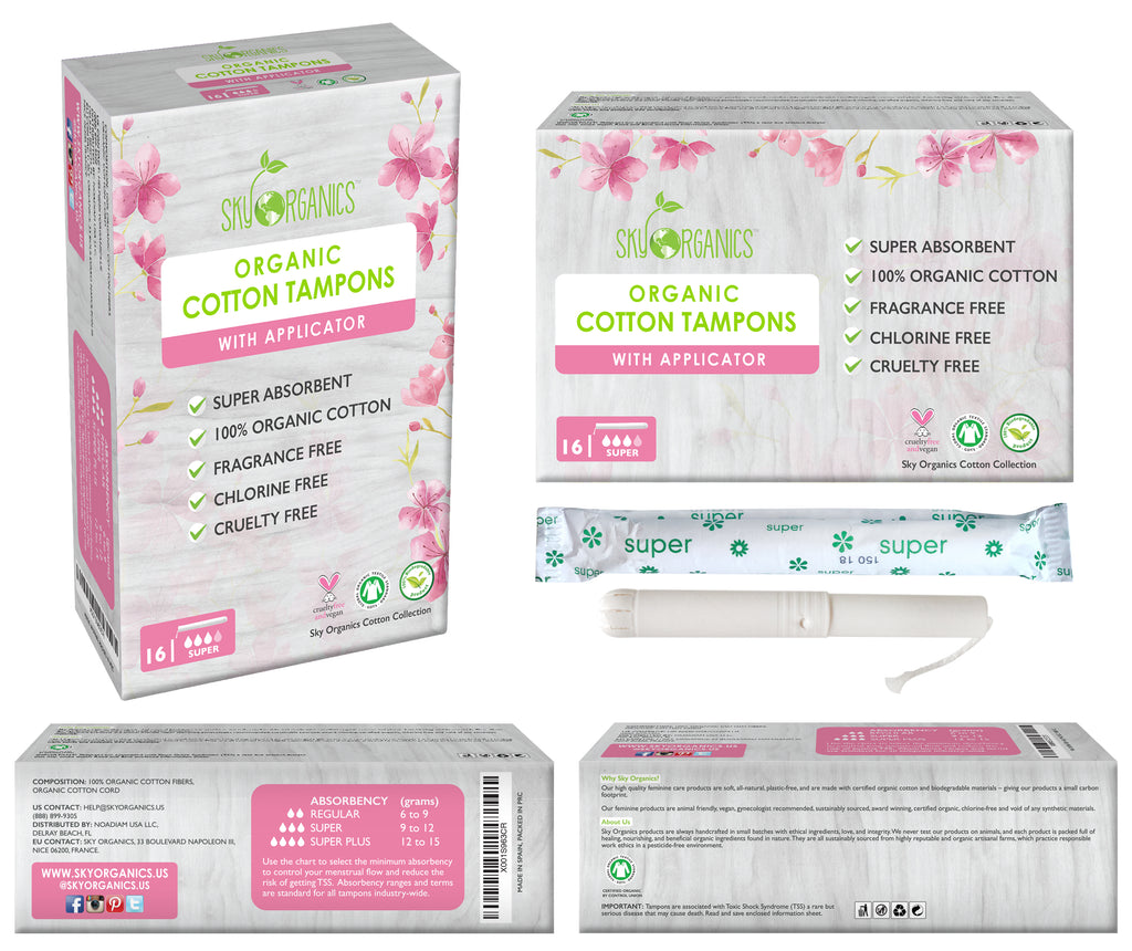 Super Organic Cotton Tampons-3