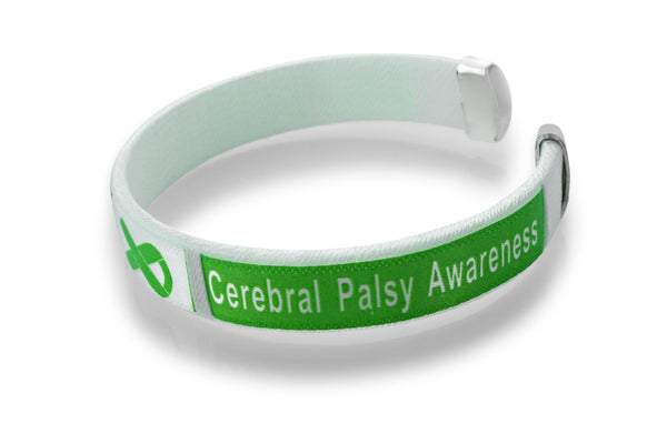 Cerebral Palsy Awareness Bangle Bracelet