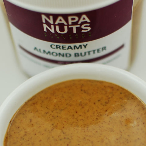 Almonds - Butter - 1# Container - Napa Nuts