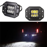 "Dually Flush Mount 3"" 24w CREE LED FLOOD for Truck JEEP ATV OFF ROAD (Pair) - Mr. Motorsports"