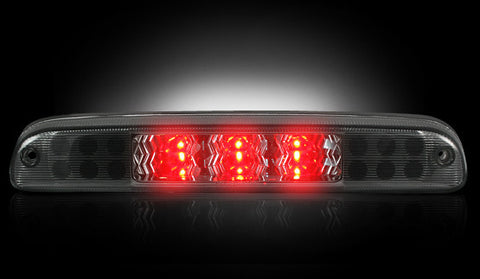 Brake Light Kit (3rd) - SMOKED Ford Superduty 99-16 & Ranger 95-14 & Explorer Sport  Part # 264116BK - Mr. Motorsports