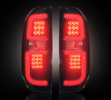 Tail Lights Fits Toyota Tundra SMOKED LED 2014-2017 Part # 264288BK - Mr. Motorsports