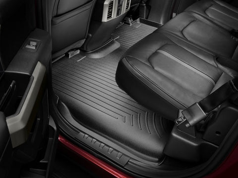 16-17 GRAND CHEROKEE/16-17 DURANGO FRONT FLOORLINER BLACK - Mr. Motorsports