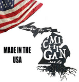 "Thankful for my Michigan roots steel CNC metal art sign, 21.5""x12"" - Mr. Motorsports"