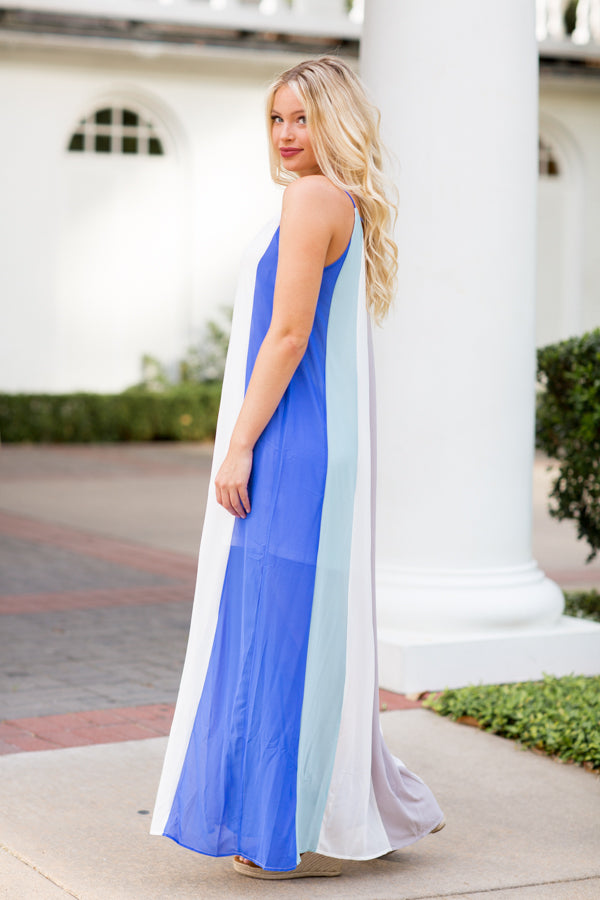 Sherbet For Sure Maxi- Blue