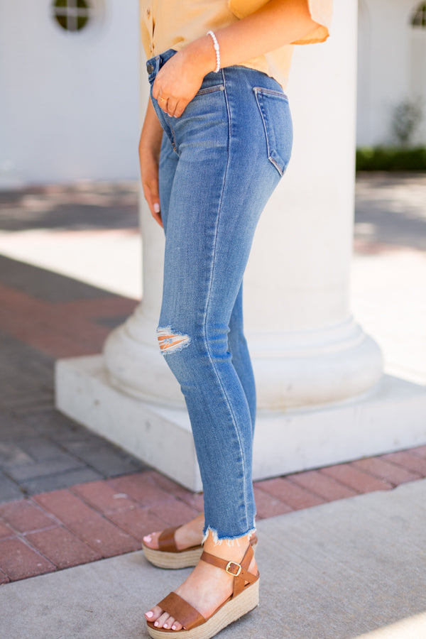 Ripped To Perfection Jeans - Light Wash