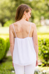 Beat The Heat Tank - White
