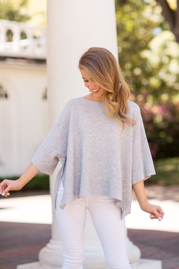Spring Breeze Sweater - Grey